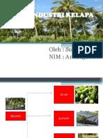 Pohon Industri Kelapa