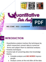 Data Analysis Qnty