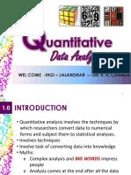 Data Analysis Qnty