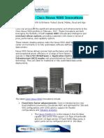 The Latest Cisco Nexus 9000 Innovations