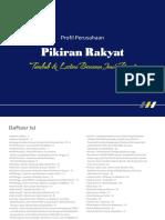 Profil Perusahaan Pikiran Rakyat