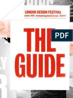 LondonDesignFestival15 Guide