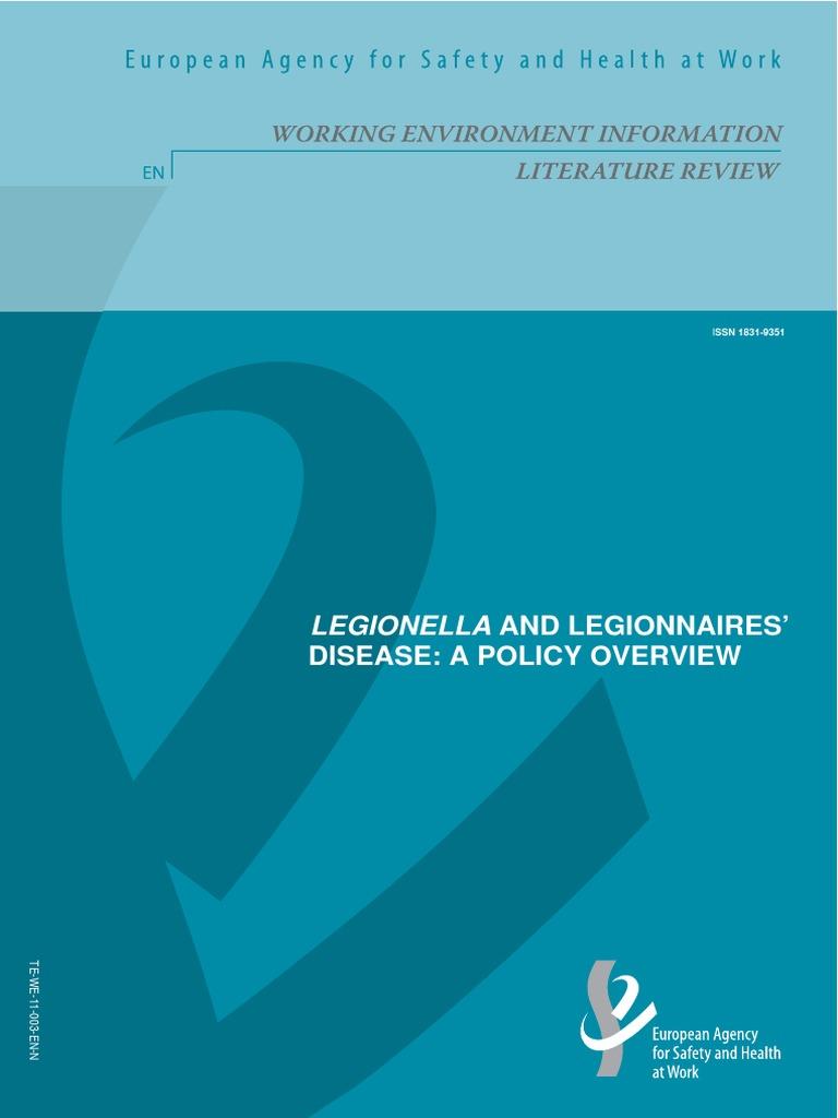 Legionella Policy Overview | Public Health | Wellness
