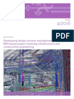 Developing Design process management in BIM based project involving infrastructure and construction engineering
