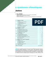 Conduite Des Systèmes Climatiques_Chaîne de Régulation
