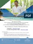 Chm Vacancy Ad Eng & f&b