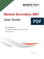 Module Secondary SMT User Guide V2.1
