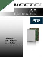 Quectel Embedded GSM Antenna User Guide V1.2