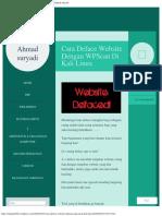 Cara Deface Website Dengan WPScan Di Kali Linux  Ahmad suryadi.pdf