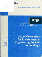 Use of Computers for Environmental Epgineering Related to Buildings