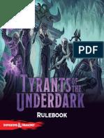 TyrantsOfTheUnderdark Rulebook