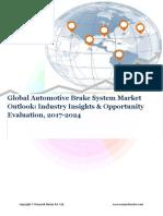 Global Automotive Brake System Market (2017-2024)- Research Nester