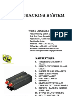 GPS Vehicle Tracking System Coimbatore | GPS Tracking System Chennai
