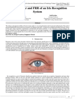 Improving Far and FRR of an Iris Recognition System