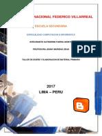 Manual de Blogger Listo PDF