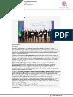 """Il Premio """"O. Pessina"""" a due laureati dell'Università di Urbino - Il Mascalzone.it, 7 giugno 2017"""