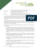 Manual de Procedimentos no âmbito da Saúde do Trabalho - DGS