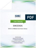 SMCD3GN Wireless Cable Modem Gateway User Manual
