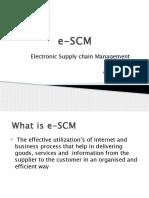 e-SCM