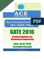 Ace Academy Gate 2016 Me Set 1