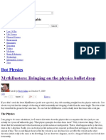MythBusters_ Bringing on the Physics Bullet Drop – Dot Physics