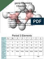 Inorganic Chemistry- Period 3, Group 2