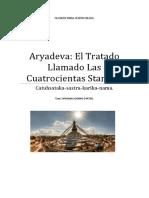 Aryadeva El Tratado Llamado Las Cuatrocientas Stanzas
