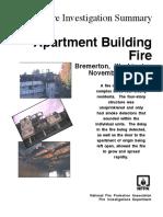 Fire Investigation Summary 3 - 1997