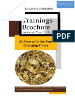 Training Brochure