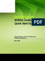 175.16 NVIDIA Control Panel Quick Start Guide