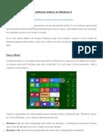 Os Melhores Atalhos Do Windows 8