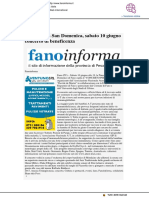 Pinacoteca san Domenico, sabato 10 concerto per beneficenza - Fano Informa.it, 9 giugno 2017