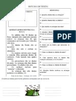 Atividades de Português