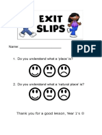 exit slips geography 1