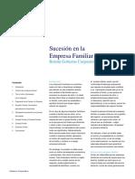 Boletín Gobierno Corporativo - Sucesión en la Empresa Familiar 2010.pdf