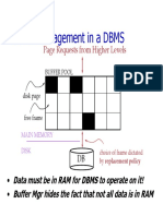 Buffer Management in DBMS.
