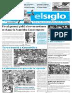 Edición Impresa El Siglo 09-06-2017