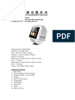 Smart Watch Feature and Specification.docx