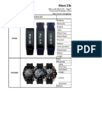 Price list of Cheng fong Smart Watch.xlsx