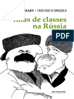 Karl Marx _ Friedrich Engels - Lutas de Classes Na Russia
