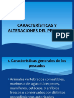 Características y Alteraciones Del Pescado
