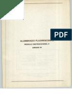 Vol. 33 Alumbrado Fluorescente Módulo Instruccional 9 Unidad 33