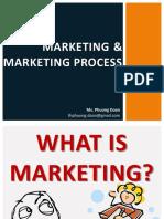 1 Marketing and Marketing Process