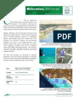 Nassau Port Relocation Environmental