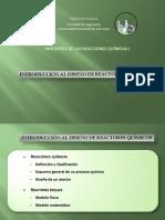 1- IRQ I - Introducción Al Diseño de Reactores Químicos