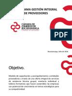 050916 - Desarrollo de Proveedores - Grupo SURA