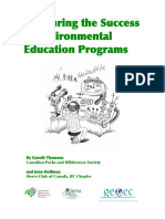Measuring Success of Environmental Education Programs