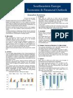 Southeastern Europe Economic & Financial Outlook