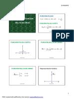 32 Filtrado y Funcion Delta de Dirac