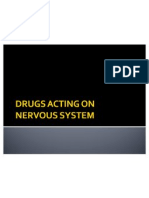 Drugs Acting on Nervous System-1